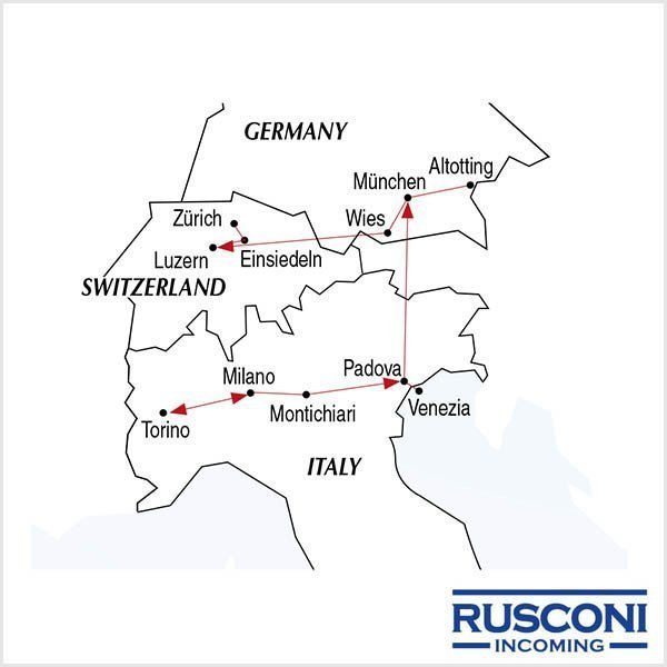 Rusconi Viaggi Incoming Italy Germany Switzerland