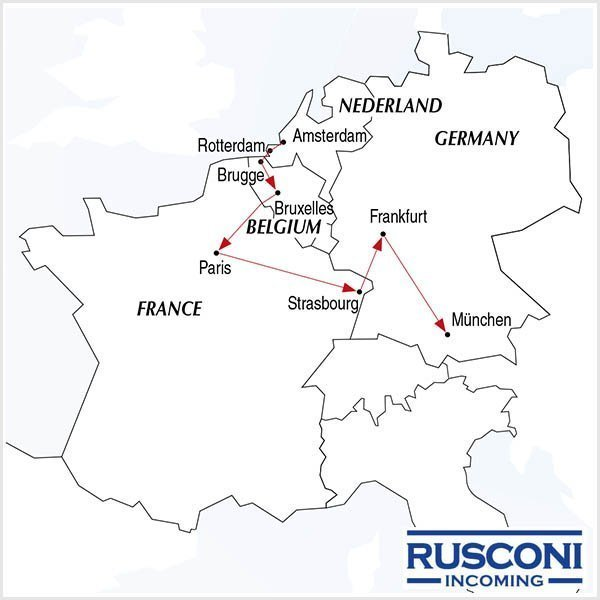 Rusconi Viaggi Incoming Holland Belgium France Germany