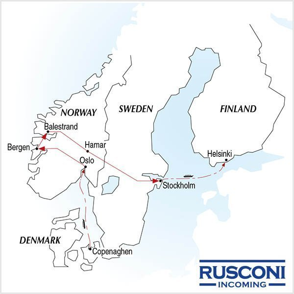 Rusconi Viaggi Incoming Denmark Norway Sweden Finland